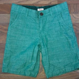 Cat & Jack Green Dress Chino Shorts 10